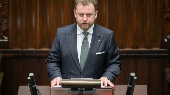 Łukasz Szumowski - nagła decyzja