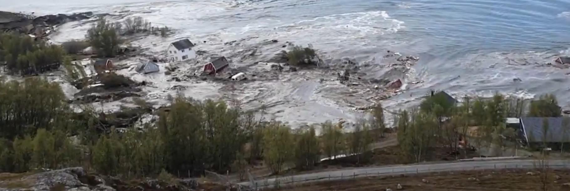 Alta - katastrofa w Norwegii. Sceny jak z filmu