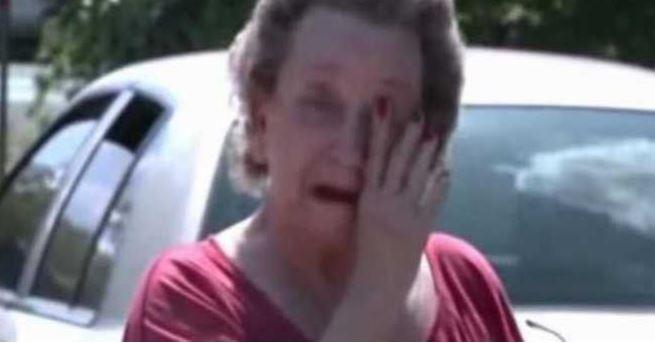 Kilku chłopców zakradło się do ogrodu 75-latki. Gdy staruszka zobaczyła, co zrobili, nie mogła powstrzymać łez