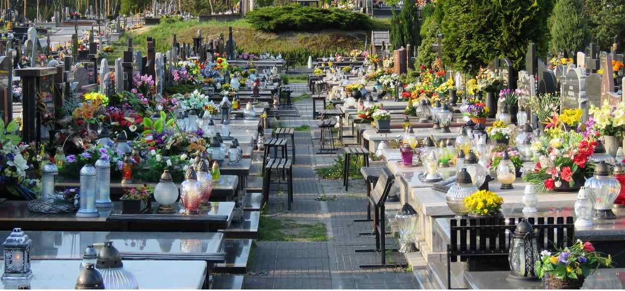 Na cmentarzu zauważyła kartkę wiszącą na grobie. Podeszła bliżej i zamarła, natychmiast zaczęła uciekać
