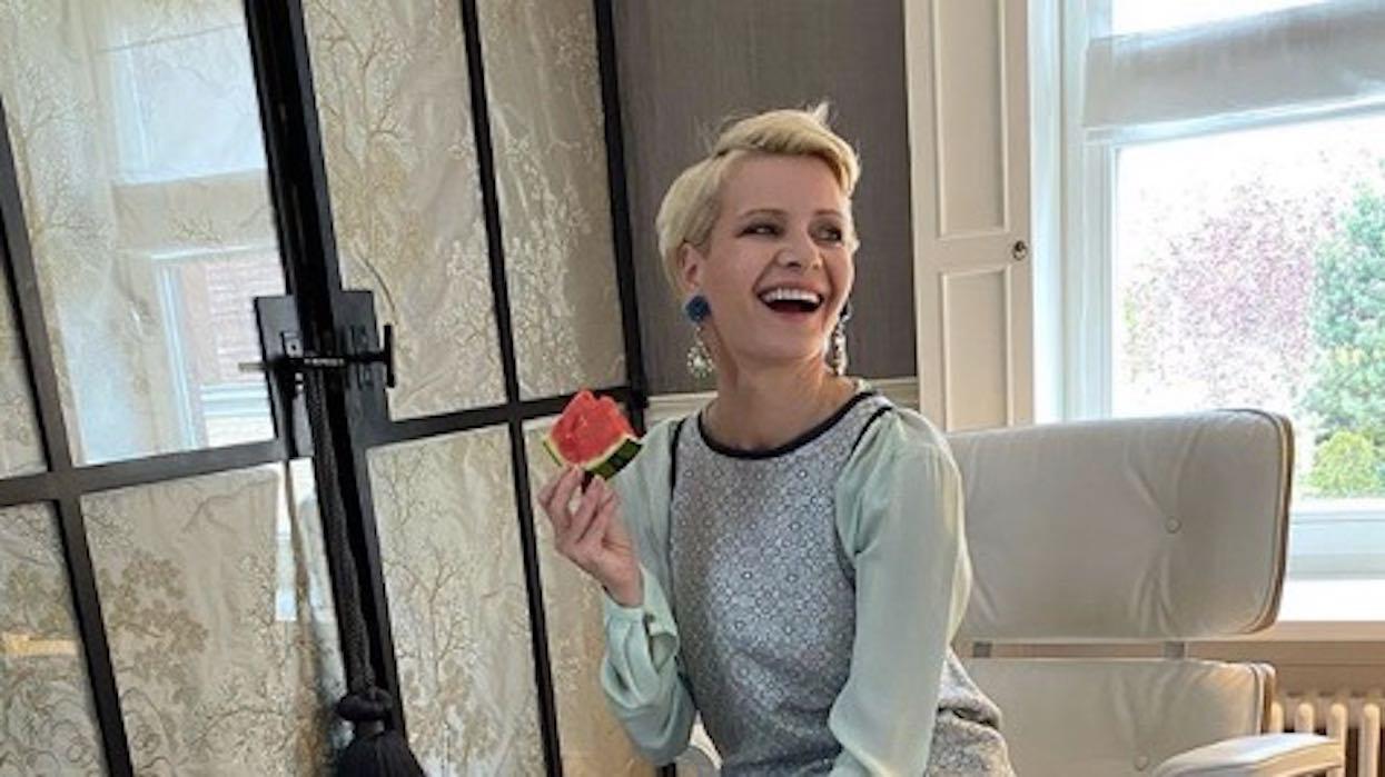 Małgorzata Kożuchowska pokazała zdjęcie z wyborów. Widok na długo zapadnie w pamięci fanów