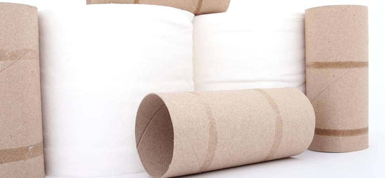 Domowe triki rolki po papierze toaletowym