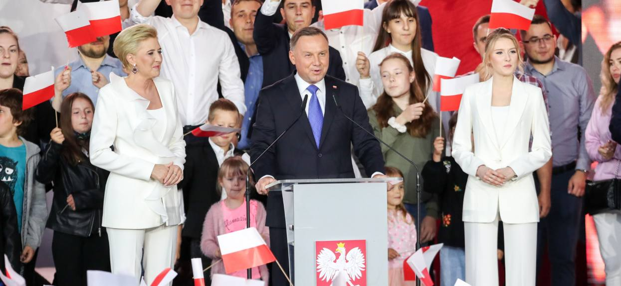 Wiec wyborczy: Słowa Andrzeja Dudy