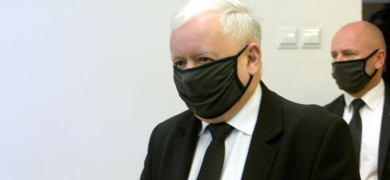 Jarosław Kaczyński nie pojawił się na wieczorze wyborczym