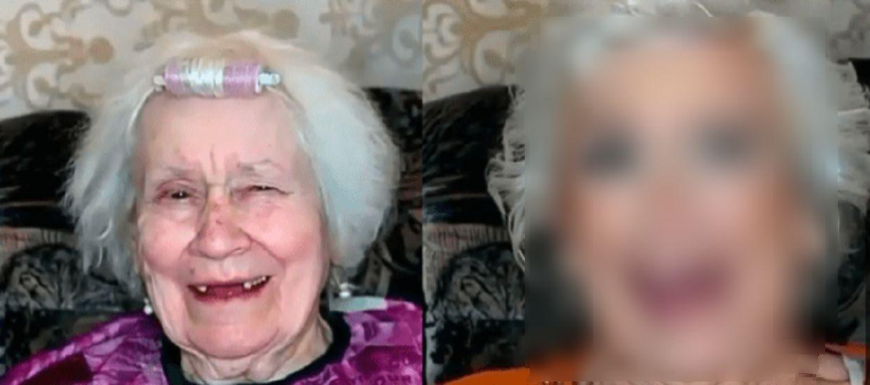 Niezwykłe, trudno uwierzyć. Wnuczek zafundował 87-letniej babci makijaż, odmłodziło ją o kilkadziesiąt lat