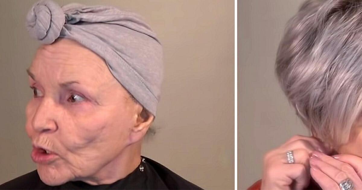 Ma 78 lat i sama robi sobie makijaż. Wygląda o kilkadziesiąt lat młodziej, niesamowite
