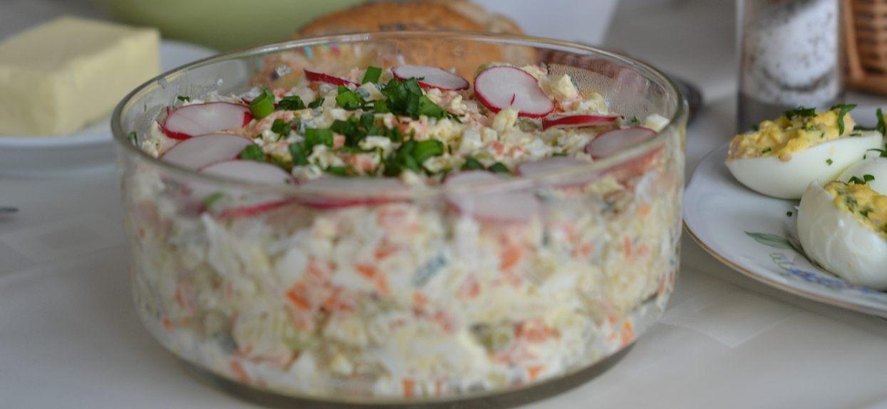 Sałatka jarzynowa to danie tradycyjne