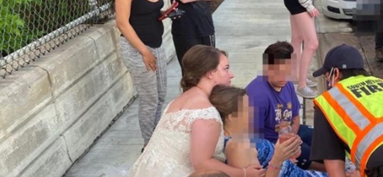 22-latka wracała ze swojego ślubu. W jednym momencie musiała się zatrzymać, doszło do tragedii