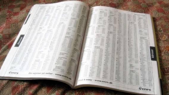 Kto z was nie miał w domu książki telefonicznej?