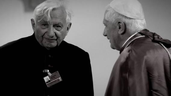 Papież pożegnał brata