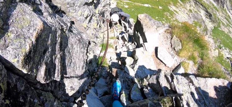 Wziął psa na najtrudniejszy szlak w Tatrach. Okropne co się działo z czworonogiem