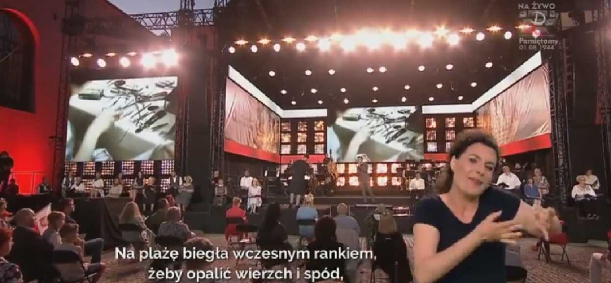 Widzowie nie dowierzali, wszystko poszło na żywo. Niewyobrażalne sceny podczas koncertu TVP na cześć Powstańców Warszawskich