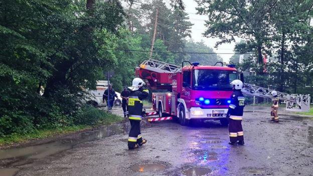 Tragiczne wiadomości z centrum Polski. Jest wielu rannych, w tym ratownicy medyczni