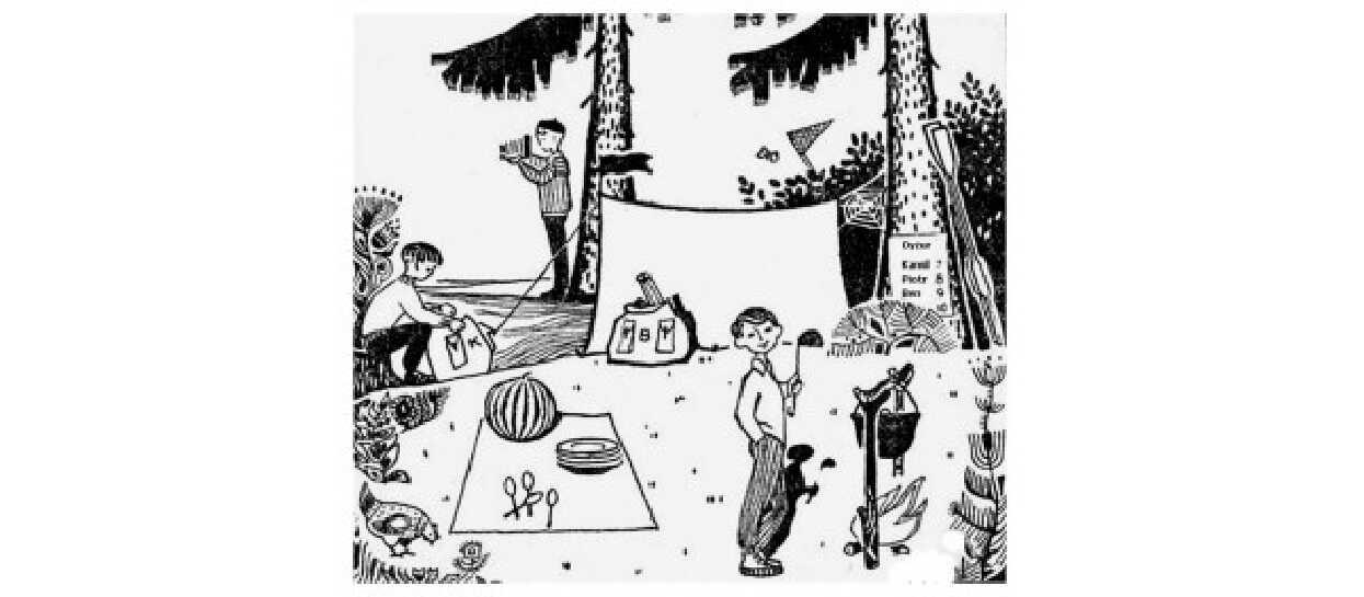 30 lat temu każdy przedszkolak potrafił rozwiązać zagadkę ze zdjęcia. Jest banalna, ale nie dla wszystkich