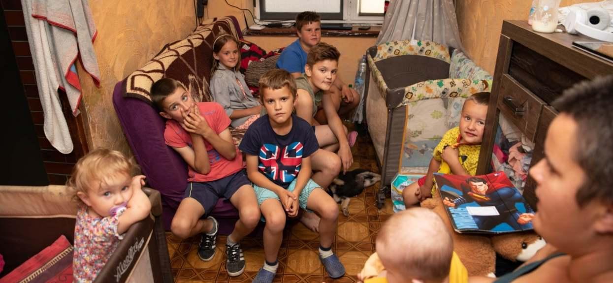 Fatalna sytuacja pani Anity i jej 9 dzieci. Niestety, nikt nie chce jej pomóc