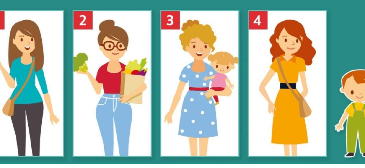 Która kobieta jest matką dziecka? Odpowiedź zdradza ukrytą prawdę na Twój temat