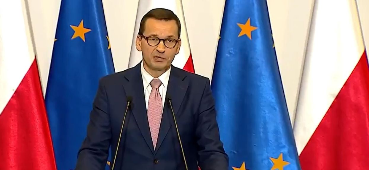 Wszystko poszło na żywo w TVP. Premier Morawiecki nie miał wyjścia, podjął kluczową decyzję