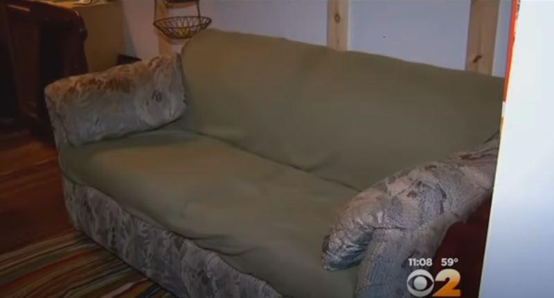Zapłacili małe pieniądze za idealną sofę