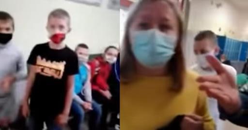 Porażające nagranie z polskiej szkoły. Ojciec wtargnął do podstawówki, córka błagała, żeby przestał
