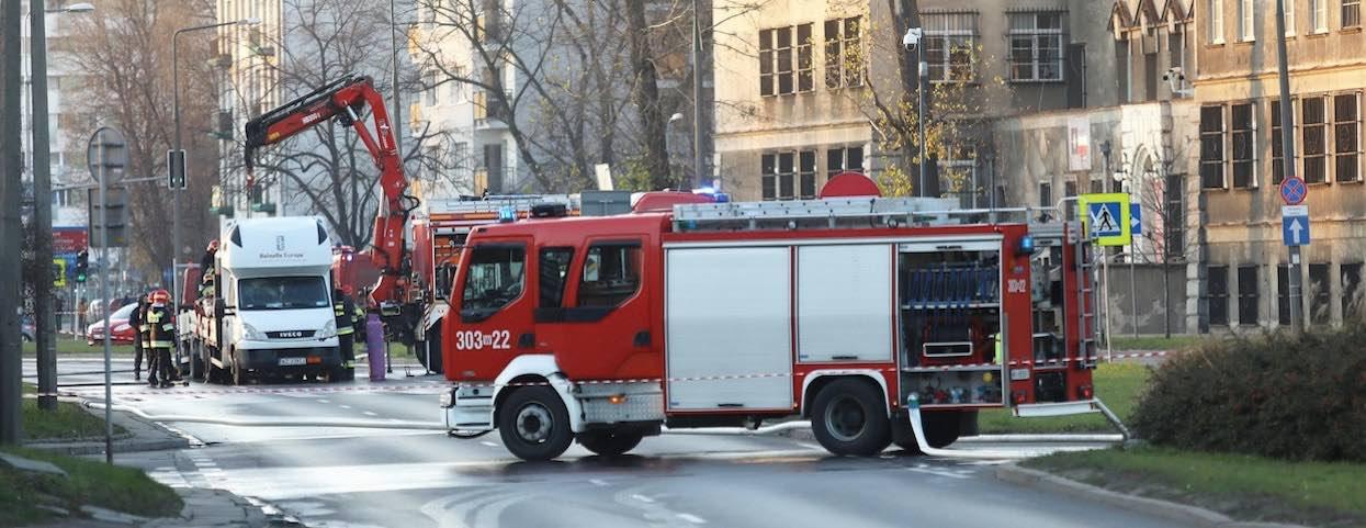 Wielka ewakuacja w polskim mieście. Uczniowie wybiegali ze szkoły, nagła akcja służb