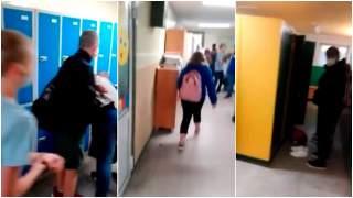 Mężczyzna wszedł do szkoły i krzyczał na dzieci, mówiła o nim cała Polska. Ujawniono, co stało się w szkole po 2 tygodniach