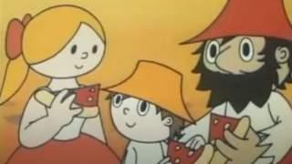 Oglądaliście przygody Rumcajsa, Hanki i małego Cypiska?