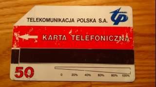 Pamiętacie karty do automatów telefonicznych TP? Wiele osób je kolekcjonowało