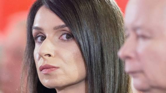 Marta Kaczyńska przyłapana