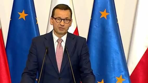 premier Mateusz Morawiecki kluczowa decyzja TVP