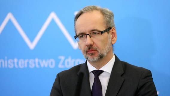 Minister Zdrowia przekazał informacje