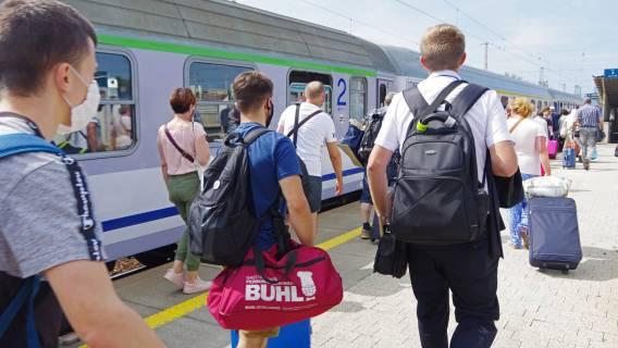 Pasażer - chryja w pociągu