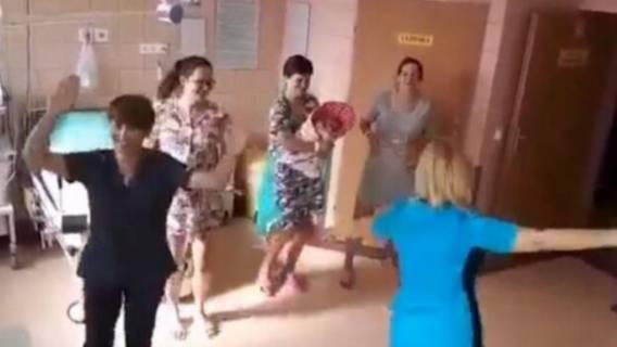 pielęgniarki szpital nagranie