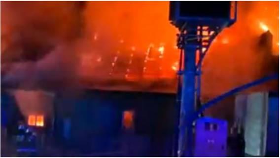 Pożar - dramatyczna akcja