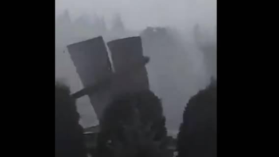 Pogoda siała spustoszenie w polskiej miejscowości