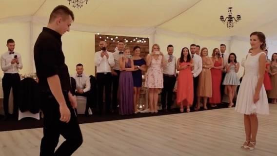 Idąc na wesele nikt nie mógł się spodziewać, że stanie się świadkiem czegoś podobnego