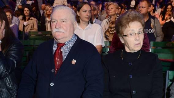 Żona Lecha Wałęsy