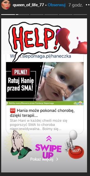 Dagmara Kaźmierska prosi o pomoc
