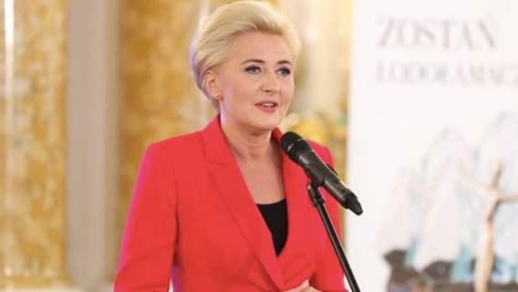 Agata Duda komentuje Strajk Kobiet