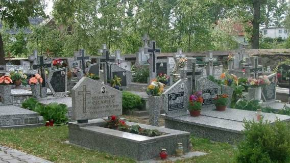 cmentarz maseczki minister obostrzenia