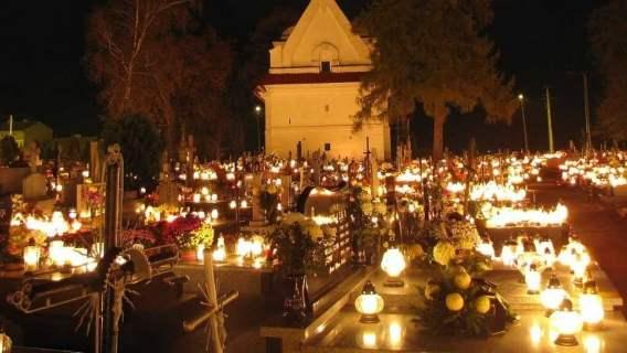 cmentarz rząd Wszystkich Świętych