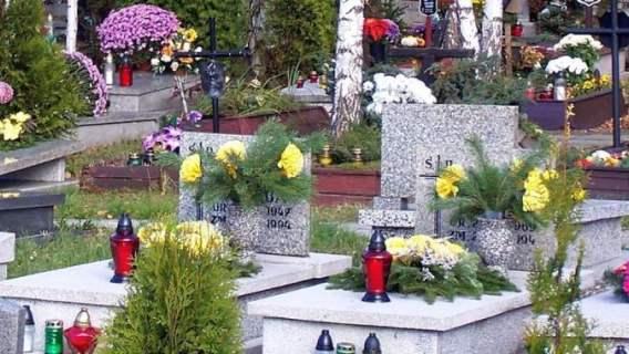 Cmentarze zostały zamknięte