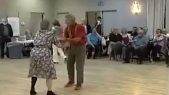 nagranie staruszkowie