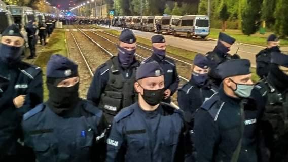 policja Jarosław Kaczyński