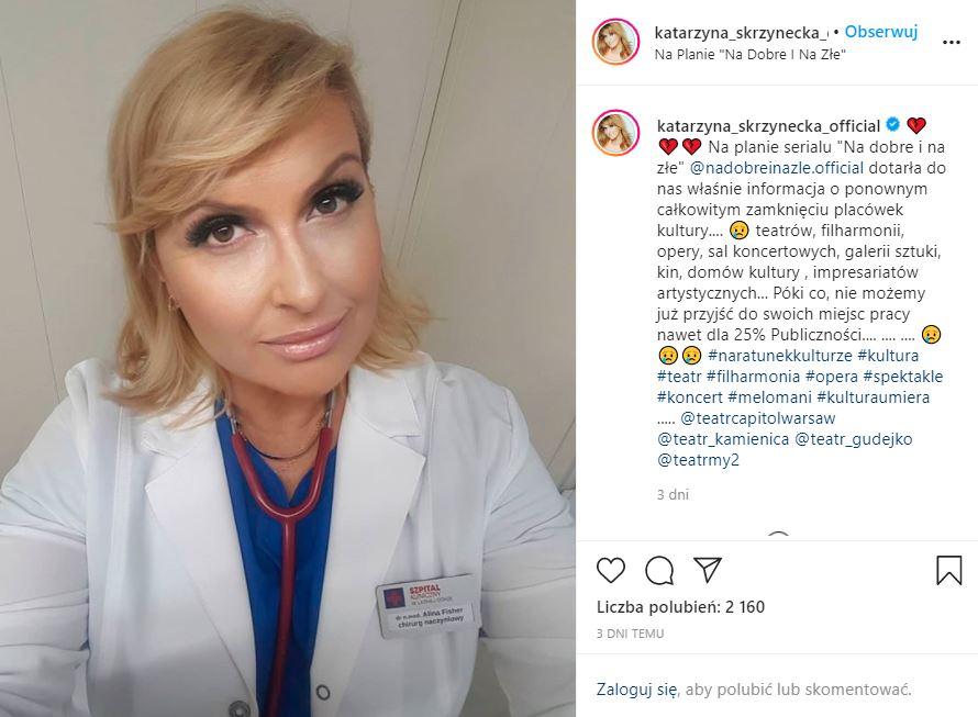 Katarzyna Skrzynecka straciła pracę