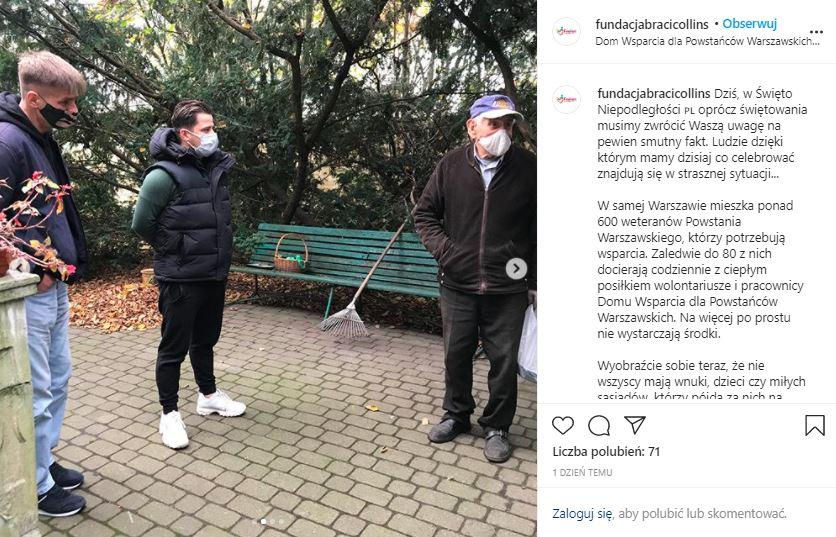 Tomasz Komenda pomaga
