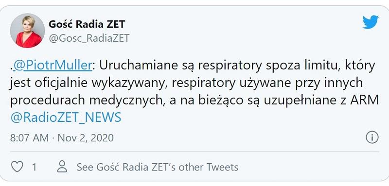Rzecznik rządu polskie szpitale