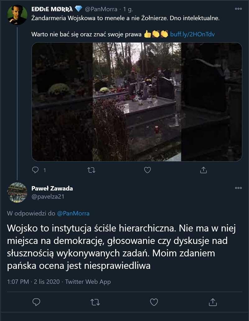 Żandarmeria Wojskowa cmentarz