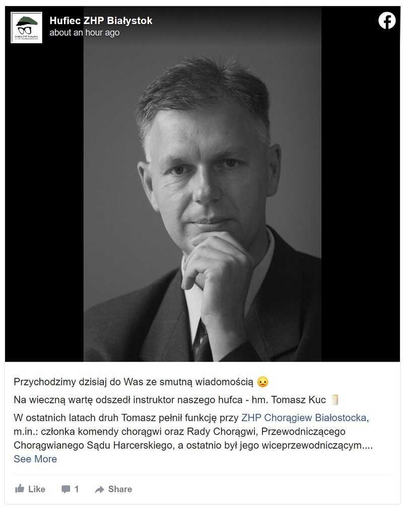 Nie żyje polskie dziennikarz TVP