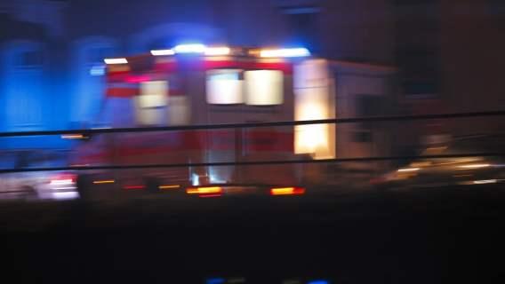 szpital mężczyźni wypadek