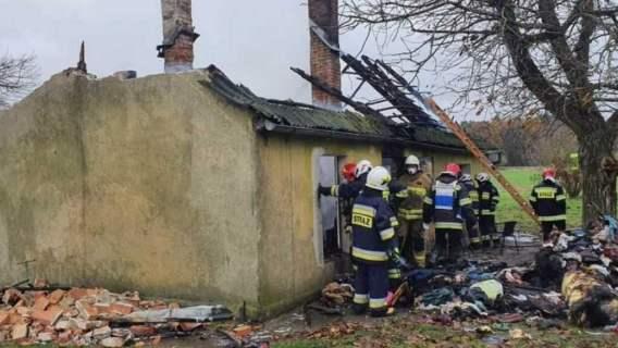 pożar pomoc rodzina